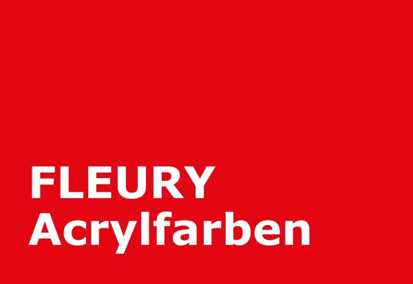 fleury acrylfarbe scharlachrot farbmuster. Black Bedroom Furniture Sets. Home Design Ideas