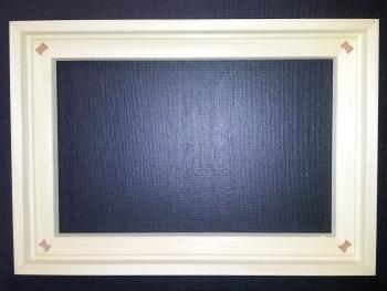 schattenfuge f r keilrahmen 30x60 cm. Black Bedroom Furniture Sets. Home Design Ideas