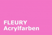 FLEURY Acrylfarbe Farbmuster (2-04 Pink)